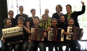Kiendl-App Akkordeonschülerorchester MaMe